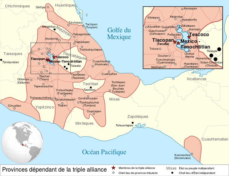 """Around 1325 CE, southward migrating Mexicas or """"Aztecs"""" came upon an island in Lake Texcoco, located in the highlands of Central Mexico. On this spot, they consecrated a temple and founded their capital city — the legendary Tenochtitlán — from which they initiated a wave of imperial conquests throughout Mesoamerica. Aztec civilization flourished for nearly two hundred years before falling to the might of the Spanish, led by Hernán Cortés (1485-1547 CE), in 1521 CE. (Info by James Wiener)…"""