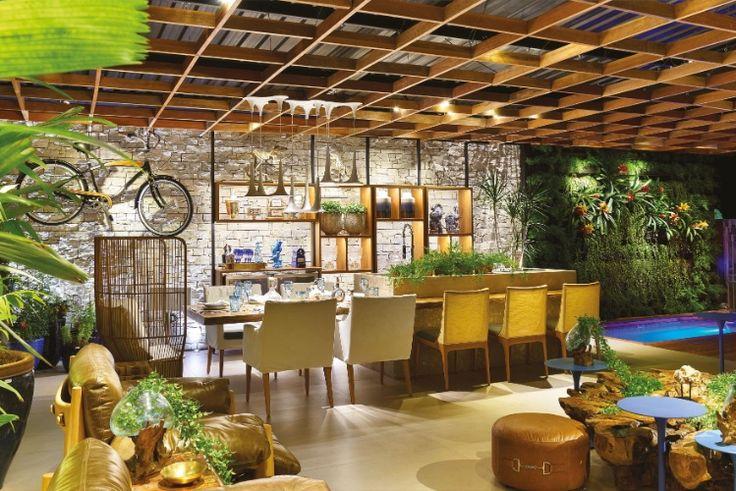 Nada de tinta! Veja dez propostas da Casa Cor Goiás para decorar paredes - Casa e Decoração - UOL Mulher