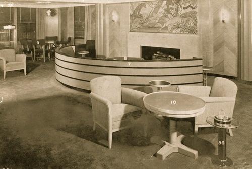 Art Deco Interior. @Deidra Brocké Wallace