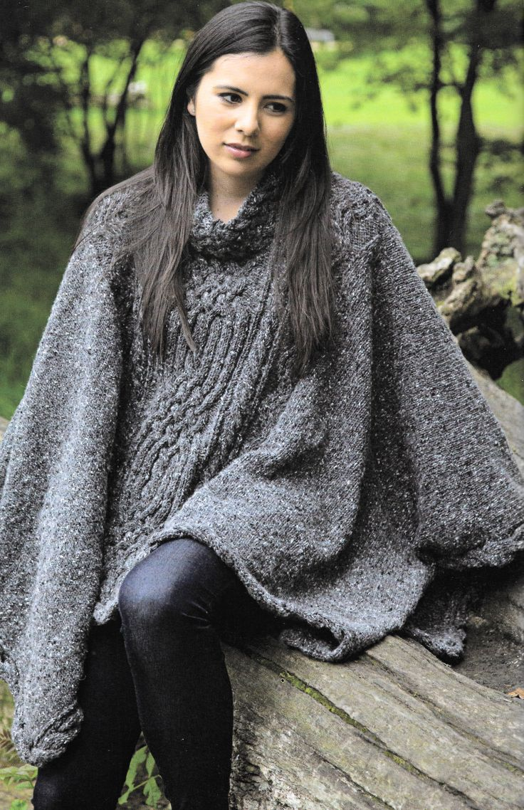 Skye Poncho from Martin Storey's 'Scottish Heritage Knits' - this is my next project!
