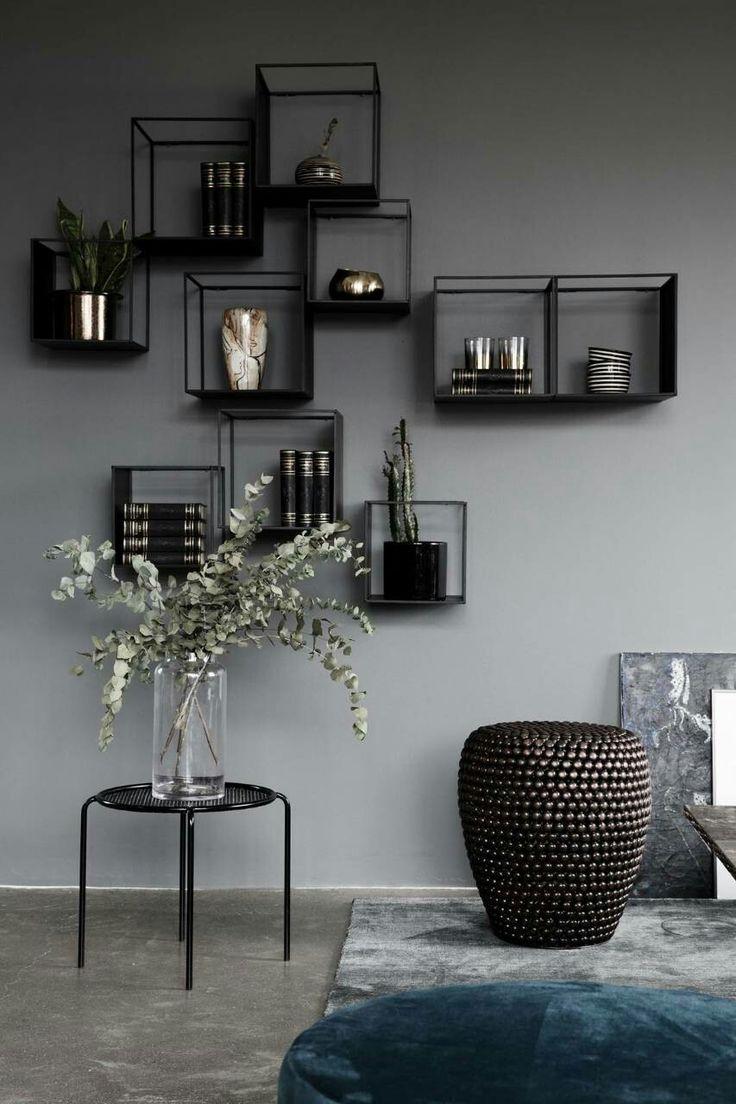 Elegant minimalist home decor inspiration. Wall de…
