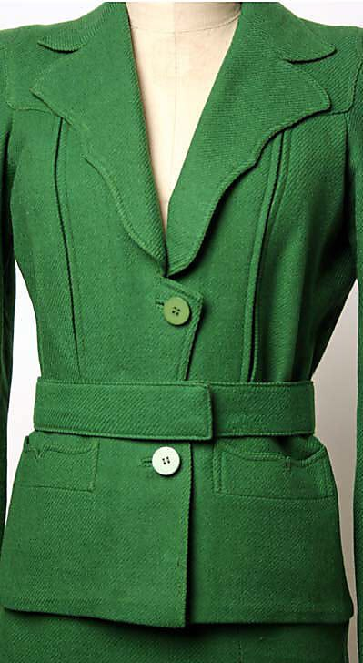 Suit - Marcel Rochas mid-1930's