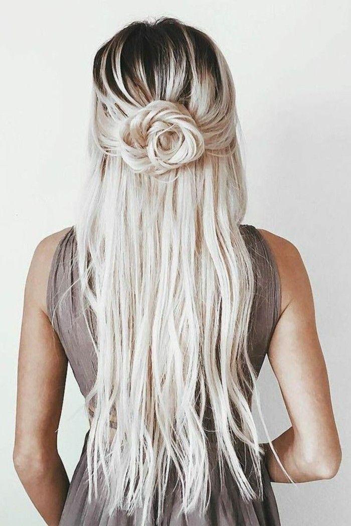 Schöne Haarfrisuren Für Jeden Anlass Haarfrisuren Pinterest