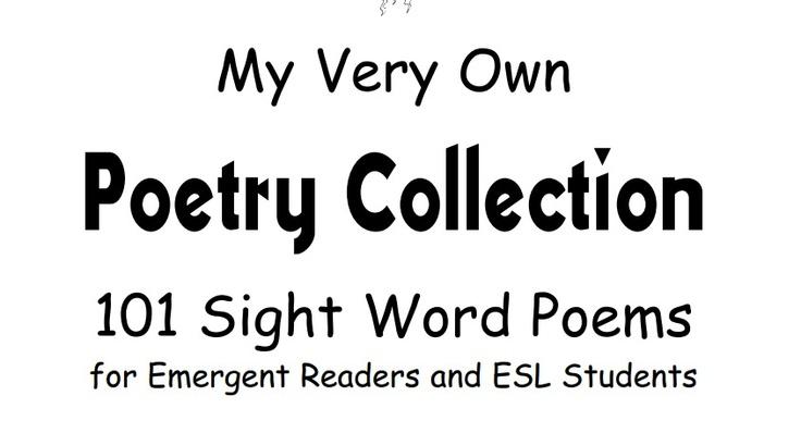 25+ best sight word poem images on Pinterest