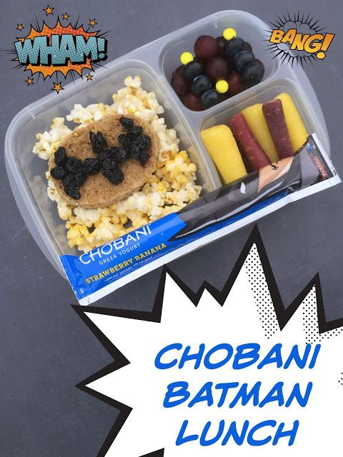 Lunchbox Dad: Batman and Superman lunches + 3 Tips for Packing Healthy Lunches #ad