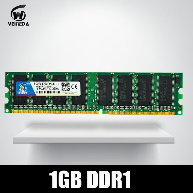 DDR1 2 GB 2X1 GB DDR 1 gb pc3200 ddr400 184Pin 400 MHz Desktop memória ddr CL3 DIMM RAM 2G now at http://ift.tt/2FnVzZP