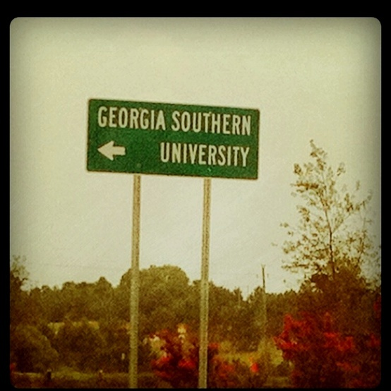 Georgia Southern University;; Home is where the heart is.