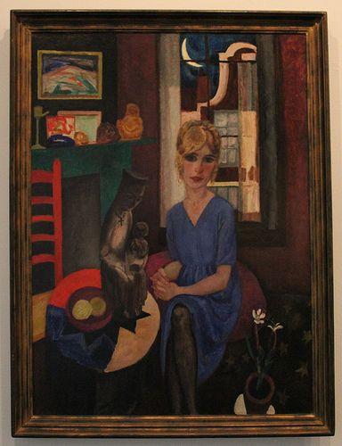 Jan Sluijters (1881-1957), Portret van Anna Leyden, 1921