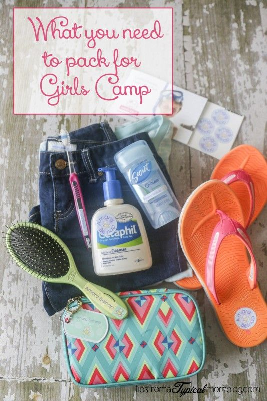 What you need to pack for Girls Camp + FREE Printable Packing List. Mabel's Labels make sure my kids stuff makes it back home with them. #ICCAMPMABEL #IC #ad