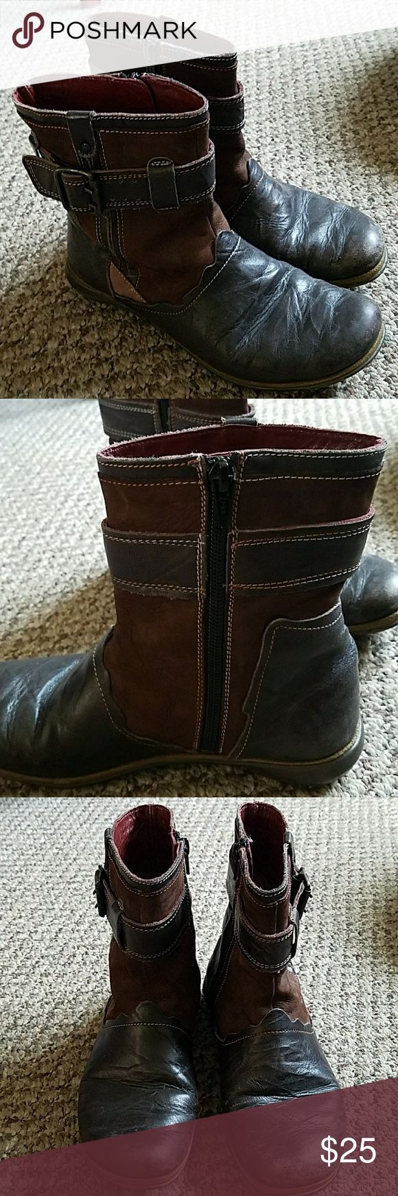 Women's Leather Romika boots Leather boots in good condition. Zip up. Romika Shoes Ankle Boots & Booties
