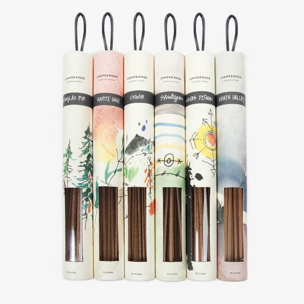 An incense for those who enjoy a walk in the woods and a night around the campfire.
