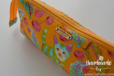 A super cute & very practical pouch. http://www.craftyrie.com/2017/12/triple-pouch-triple-love-pouch.html