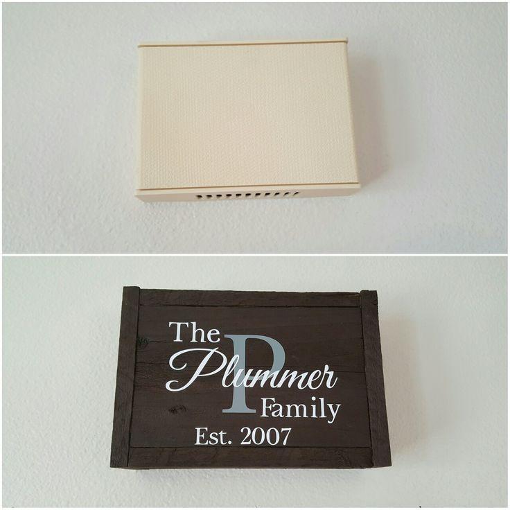 Doorbell Cover Makeover! #entrywaydecor #homedecor #doorbellcover Katie Plummer Photography