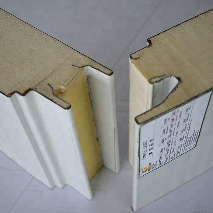 Export To Australia Roof Insulation Polyurethane Wall Sandwich Panel Paneling Fireproof Insulation Insulation