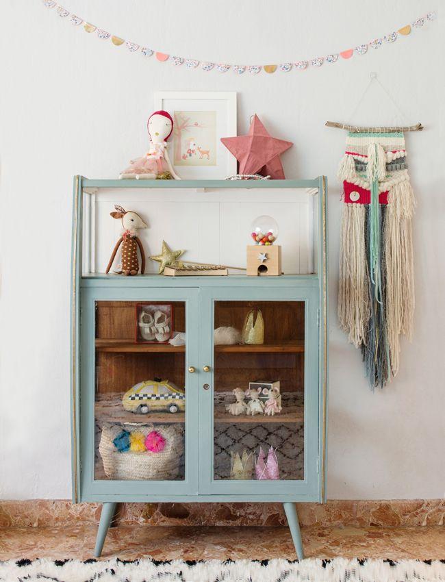 Girlsroom cabinet #meisjeskamer | Lottieisloving