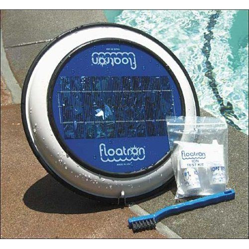 Solar Powered Pool Purifier makes swimming nearly chemical