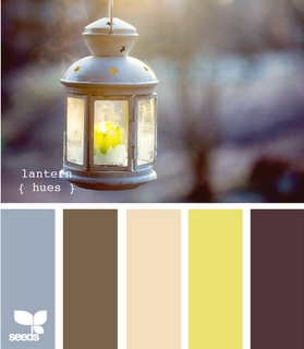 Accent Colors for Pillows/Rug/Lamp Shades/Curtains. Master Bedroom. Dark Baby Blue, Brown, Blush, Yellow, & Plum. Paint walls 'Toasted Almond'. White trim. White coverlet set.