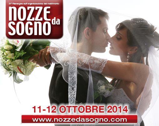 Vuoi un #matrimonio da sogno? La Fiera #Nozzedasogno, con oltre 130 espositori del settore, ti aiuterà a realizzare i tuoi desideri.