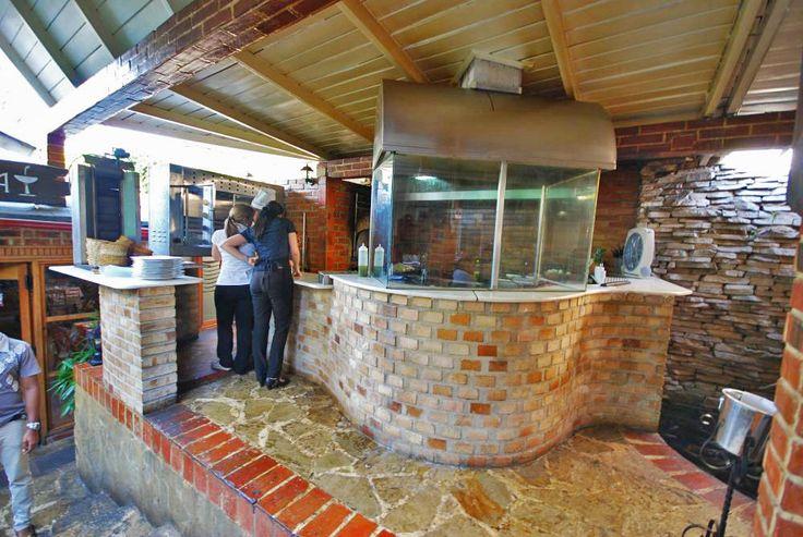 Barbecue Pit at La Fontana Restaurant and Lounge in Havana, Cuba | Havana Restaurants | Cuba Stay