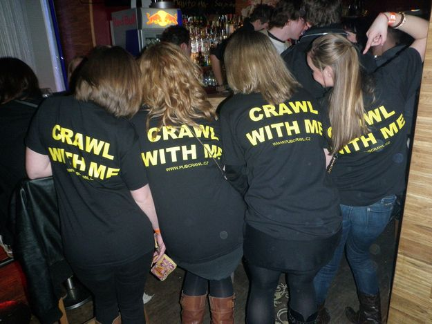 Make Some T-Shirts | 13 Ways To Prepare For That All Night Bar Crawl
