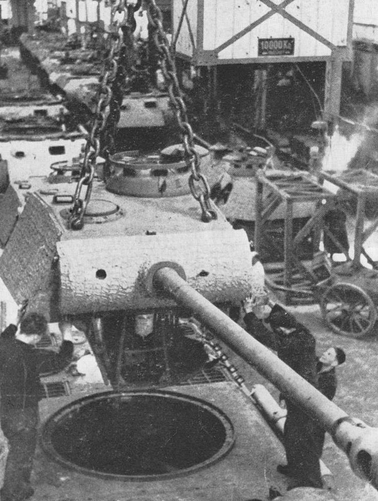 What Car Manufacturer Made World War  Tanks