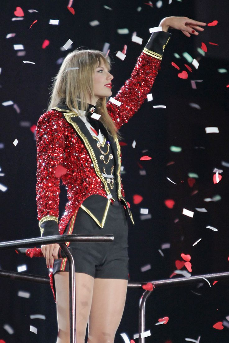 Taylor Swift. RED Tour. Vancouver, Canada                                                                                                                                                                                 More
