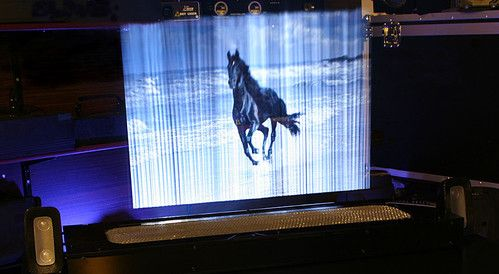 Leia Display Systems | Holographic Display | LDS are the devices that allows to display images in mid air. This unique technology makes possible to walk through the image, touch it or interact with it.