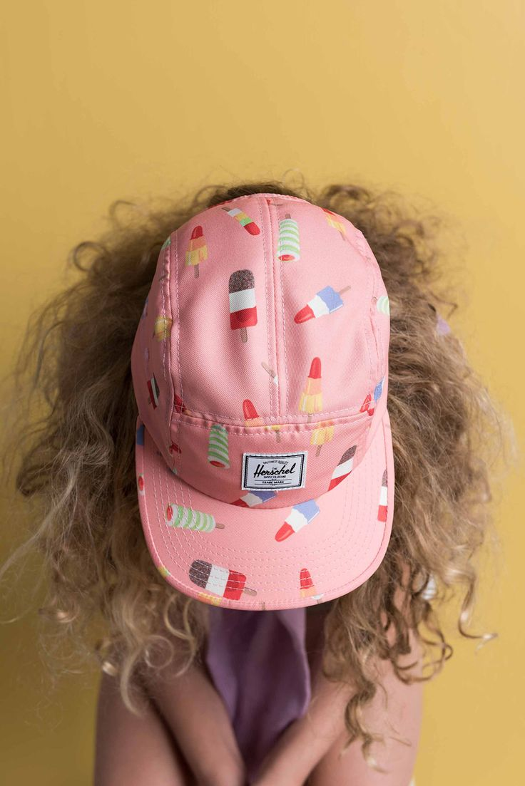 Youth Glendale Cap – Popsicle Pink