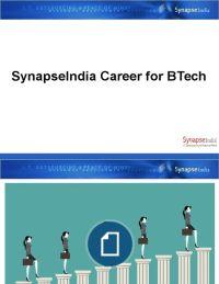 SynapseIndia Career for BTech