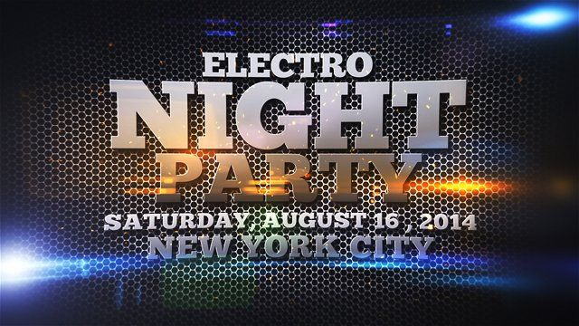 Electro Night Party Can be use to promote your music event, club, party, DJ, fashion, festival, etc..   Project available here: http://videohive.net/item/electro-night-party/7836794