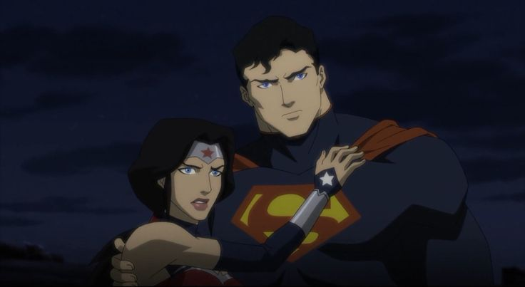 Superman & Wonder Woman.  Justice League vs Teen Titans.