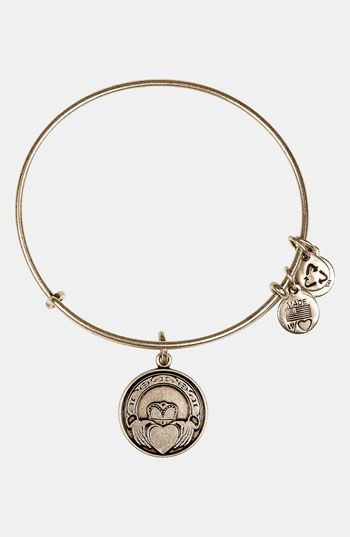 Alex and Ani 'Claddagh' Expandable Wire Bangle | Nordstrom $28