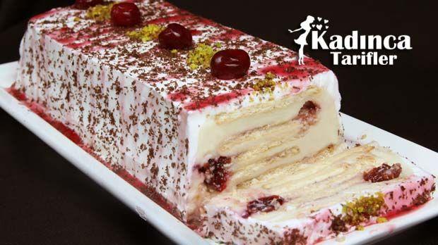Kolay Bisküvili Pasta Tarifi | Kadınca Tarifler | Kolay ve Nefis Yemek Tarifleri Sitesi - Oktay Usta