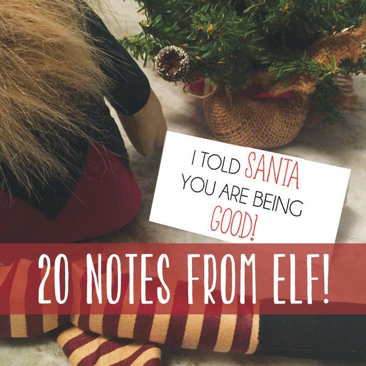 Elf / Santa Letters / Letter to Santa / Christmas / Elf Notes / Elf ...