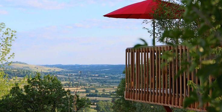 MORVAN Le Domaine des Prés Verts Spa, Boutique Hôtel | Cabanes & Roulottes de luxe avec spa privatif en Bourgogne