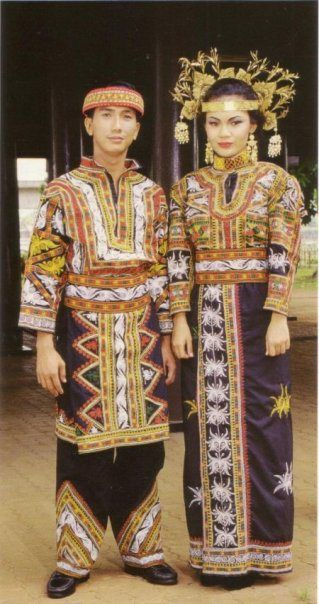 Beautiful Traditional Batak Style. Sumatra, Indonesia