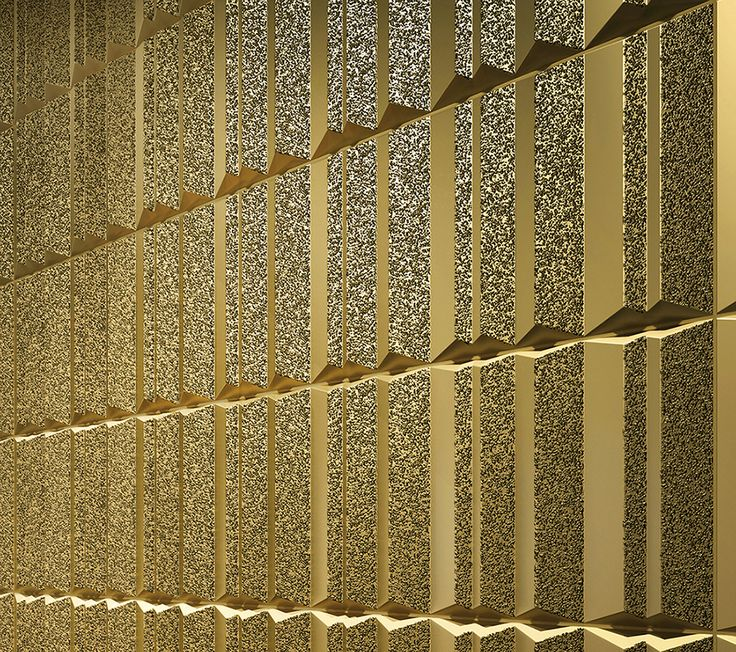 Dune decorative gold tile 187190    great for modern feature wall