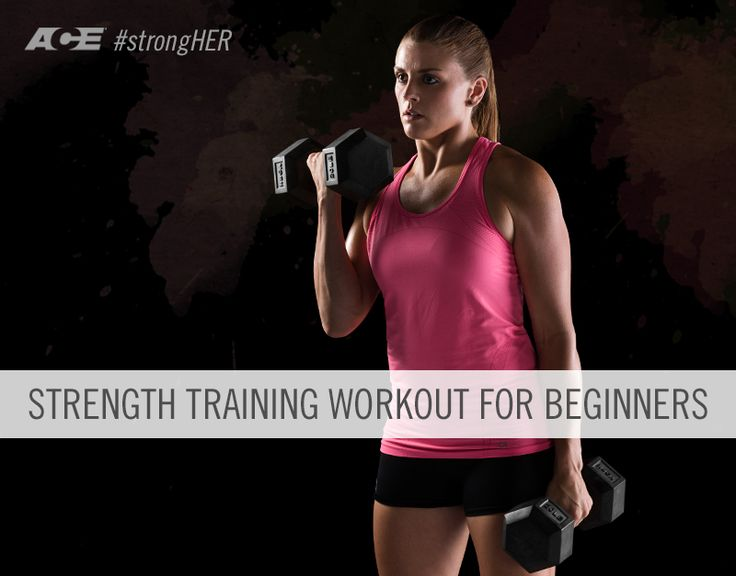strength training for women... Good advice for those new to the gym