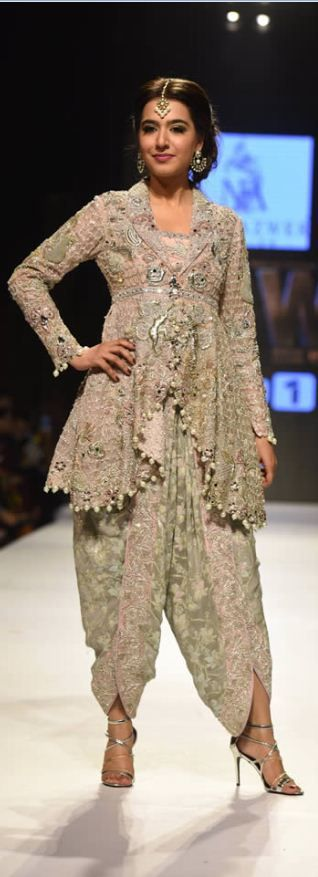 #NIDAAZWER #BRIDALDRESSES OF #FASHIONPAKISTANWEEK2015