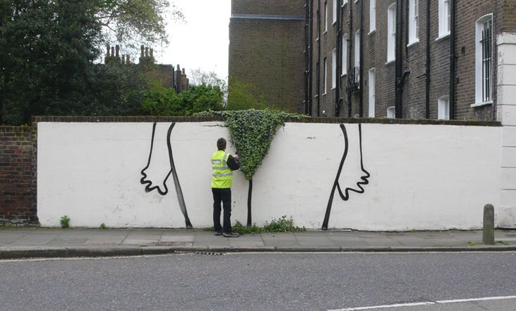 bush. oh banksy, you sly dog, you.