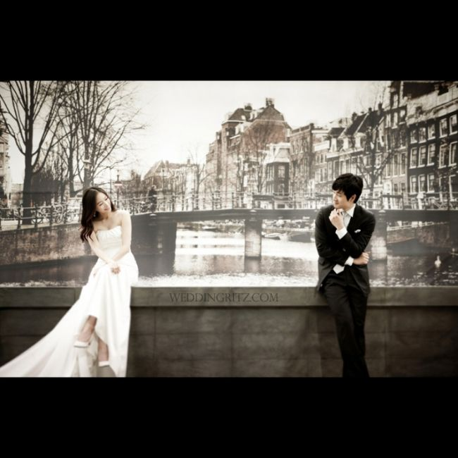 Korea Pre-Wedding Photoshoot - WeddingRitz.com » Korea wedding photographer - Chang blue new sample