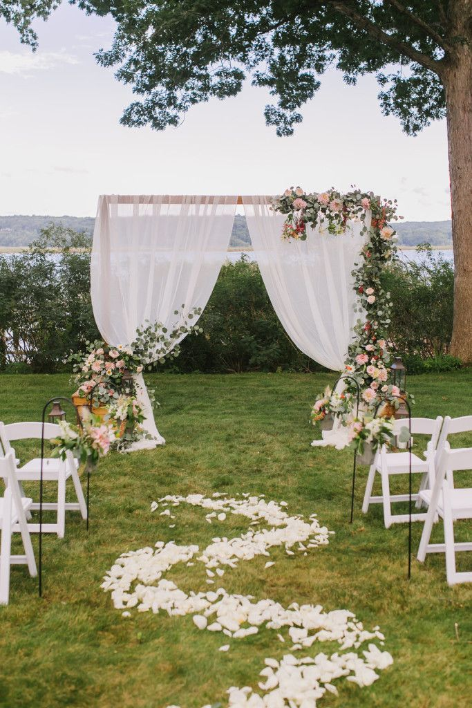 25 trending wedding altar arch decoration ideas wedding rustic floral greenery wedding altar decoration ideas junglespirit Choice Image