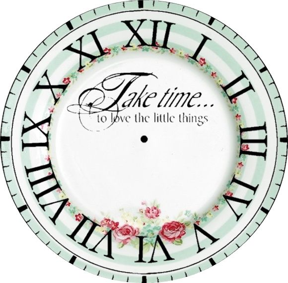 Take Time Clock Face