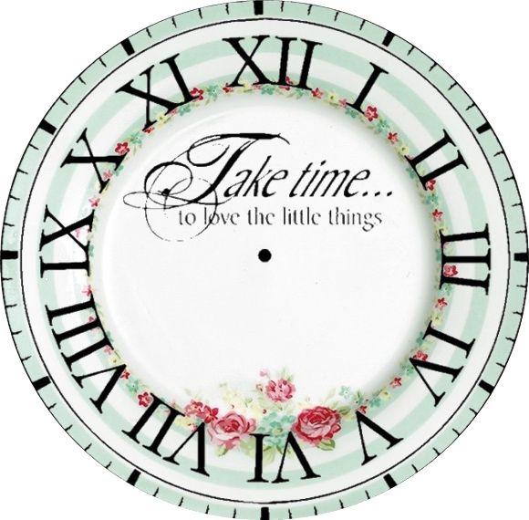 Take Time Clock Face