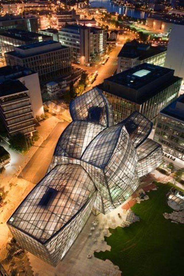 Novartis Campus in Basel, Frank Ghery