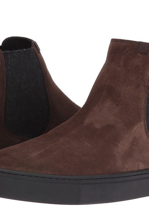 Z Zegna Chelsea Sneaker (Chocolate) Men's Lace up casual Shoes - Z Zegna, Chelsea Sneaker, A2561X-CVT-CHO, Footwear Closed Lace up casual, Lace up casual, Closed Footwear, Footwear, Shoes, Gift, - Fashion Ideas To Inspire