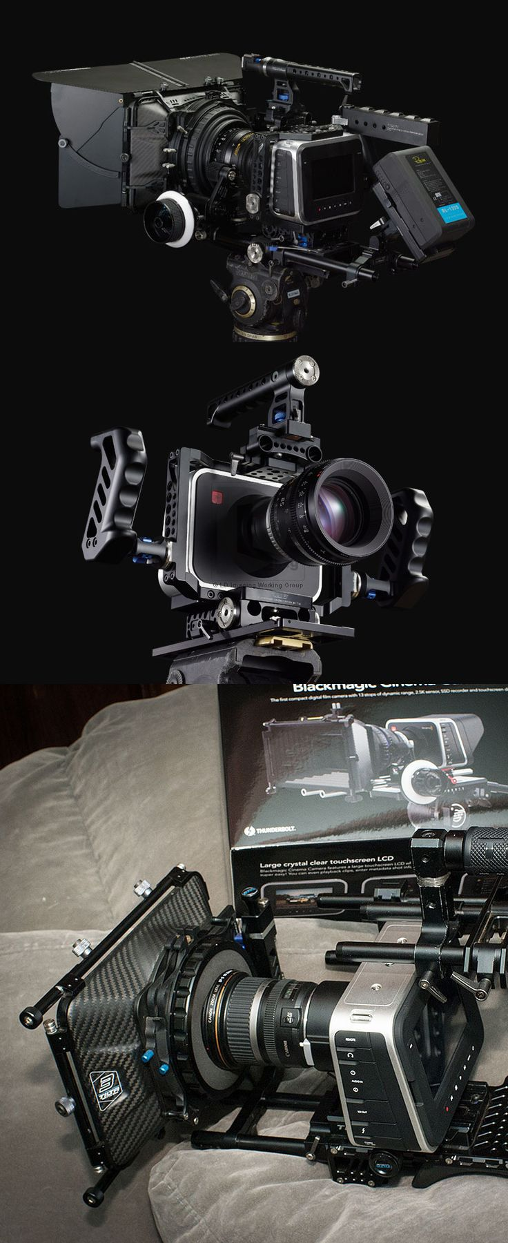 Appreciation for Camera: As a photographer, this is one of my best treasures that I own ,I call it the Black Magic ,cool ,huh?Do you like it as much as me? I find it here:http://goo.gl/SiGD50  Tilta TT-BMC-07 BMCC Camera Support Rig Kit for BlackMagic Cinema Camera (Shoulder Rig)