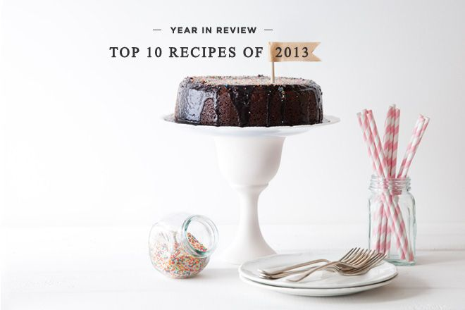 Top recipes for 2013
