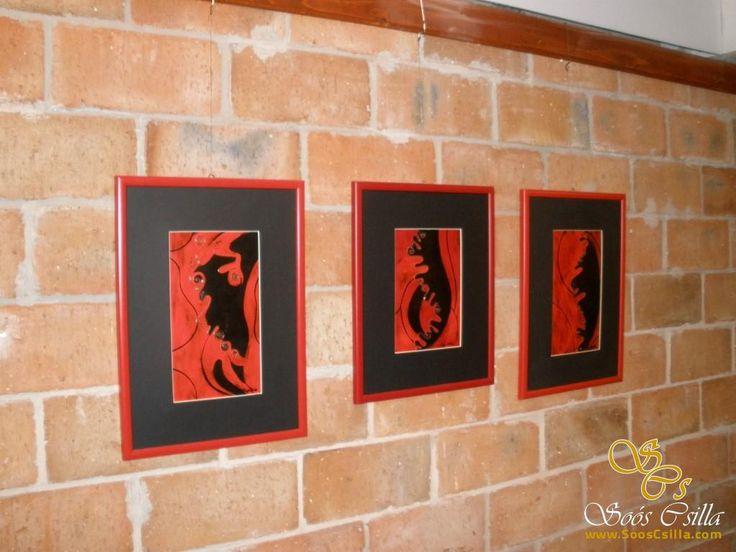 Modern tűzzománc kép  http://hu.sooscsilla.com/olomuveg/ http://hu.sooscsilla.com/portfolio/modern-tuzzomanc-kepek/