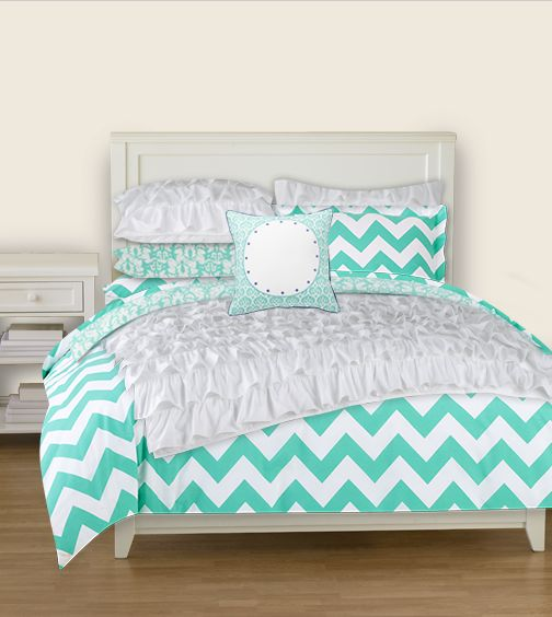 PBTeen Bedding! This Is EXACTLY The Color I Want, And Would Go Perfect With